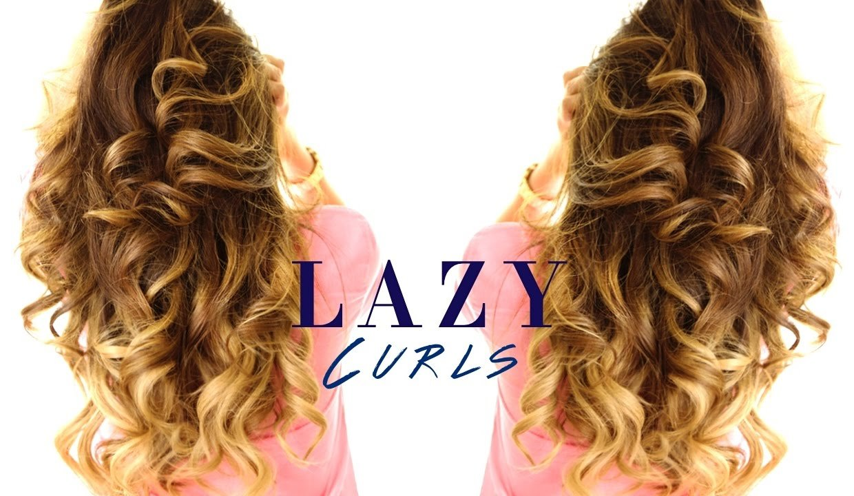 The Best 5 Minute Lazy Curls ★ Easy Waves Hairstyles Youtube Pictures