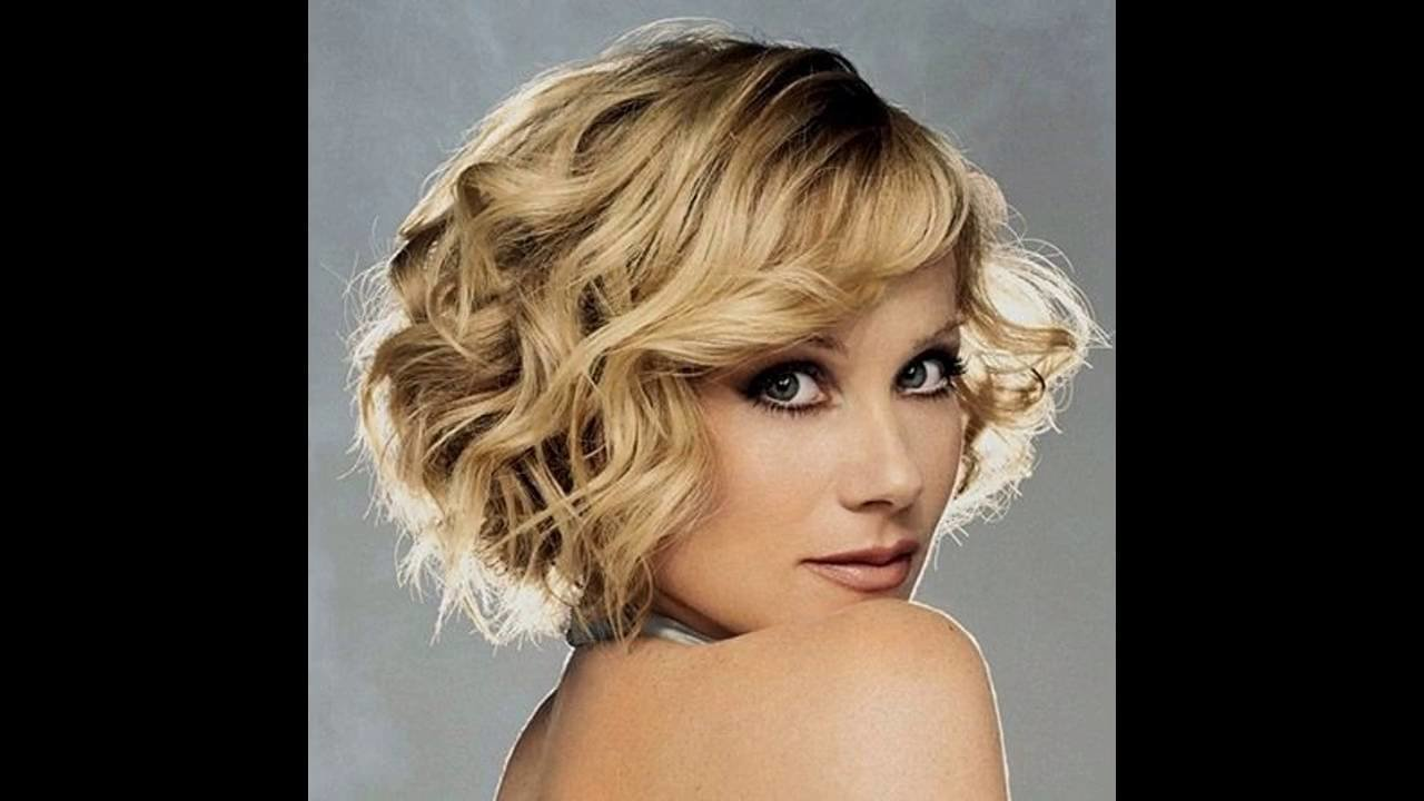 The Best Hairstyles For Curly Short Hair Youtube Pictures