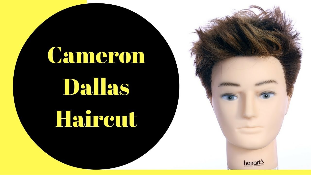 The Best Cameron Dallas Haircut Color Thesalonguy Youtube Pictures