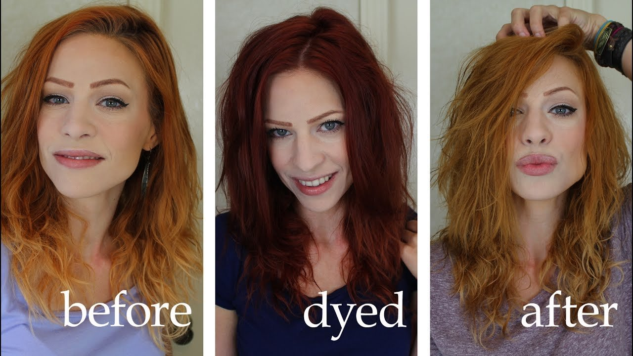 The Best Lightening Or Removing Dye With Vitamin C And Shampoo Youtube Pictures