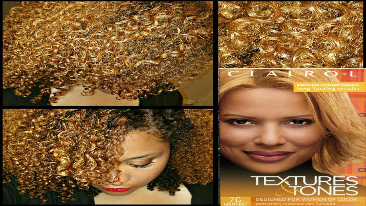 The Best Coloring My Natural Hair W Clairolcolor Textures Tones Pictures