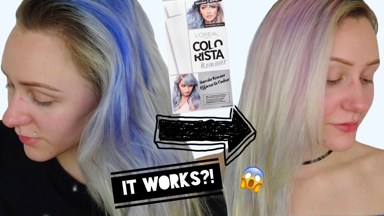 The Best Colorista Color Remover Stripping Hair Color Part 2 Pictures