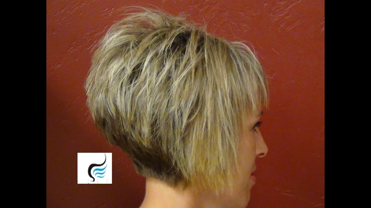 The Best How To Do A Short Stacked Haircut With Straight Bangs Pictures