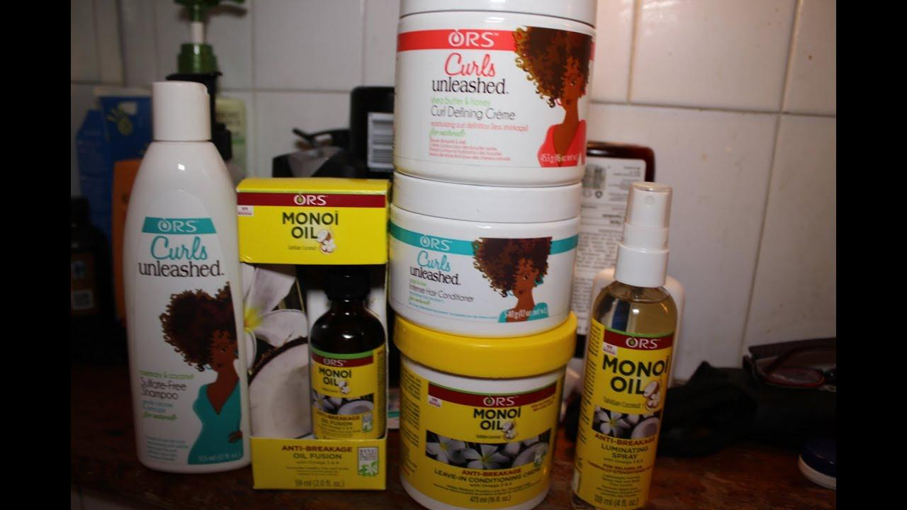 The Best Ors Hair Product Review Type 4 Natural Afro Hair Youtube Pictures