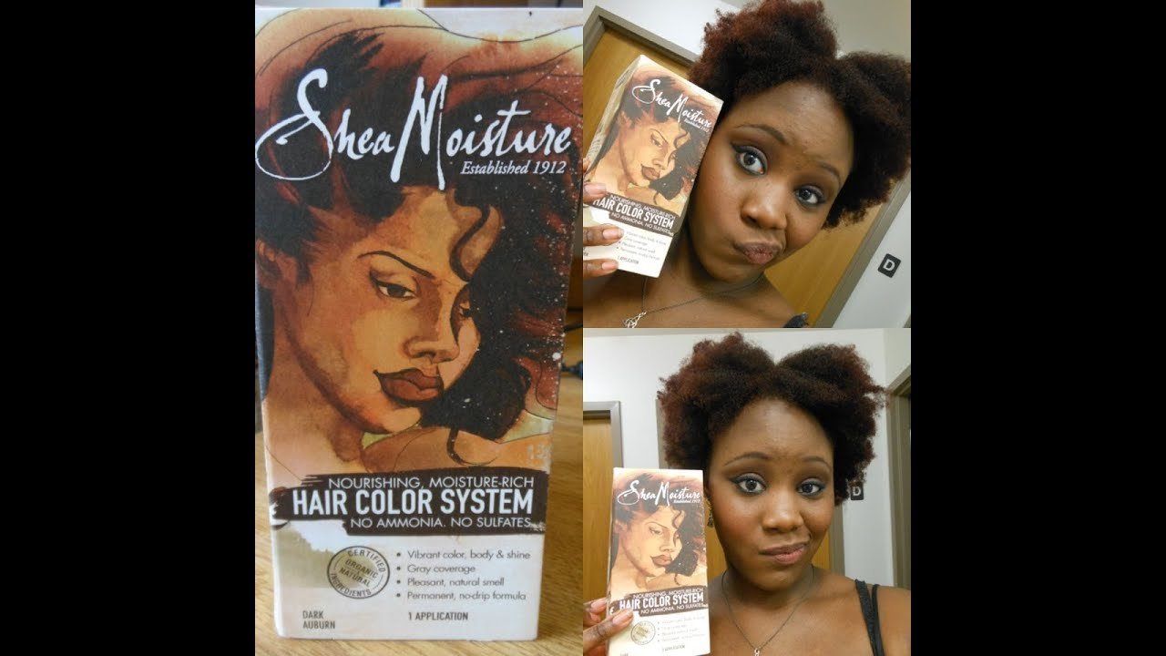 The Best Review Tutorial New Shea Moisture Hair Color System Pictures