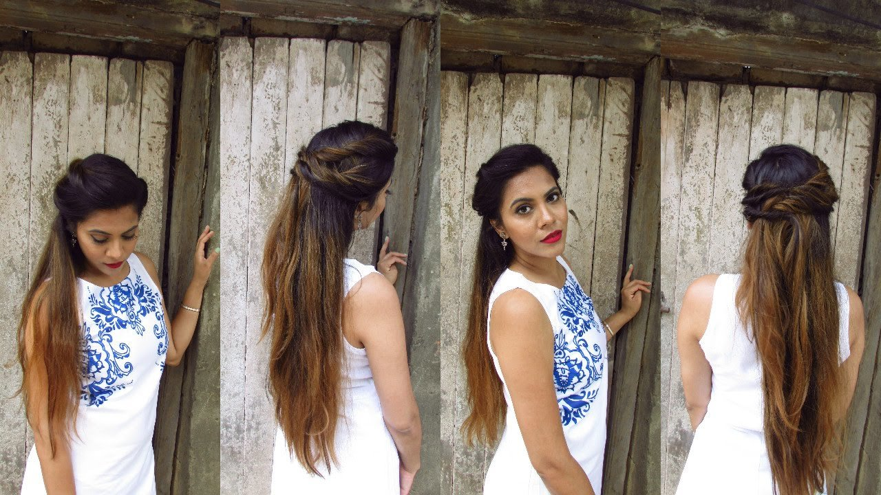 The Best Easy No Heat Boho Hairstyle For Bad Hair Day Youtube Pictures
