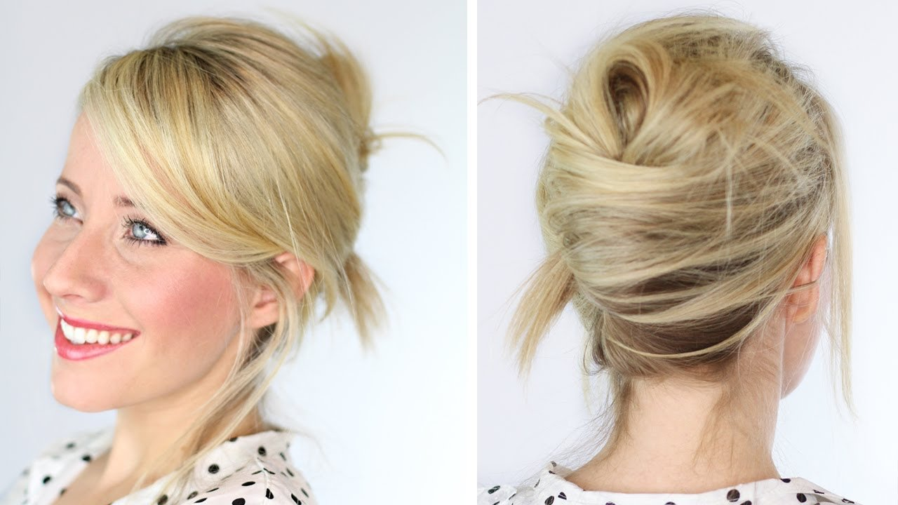 The Best Messy French Twist Youtube Pictures