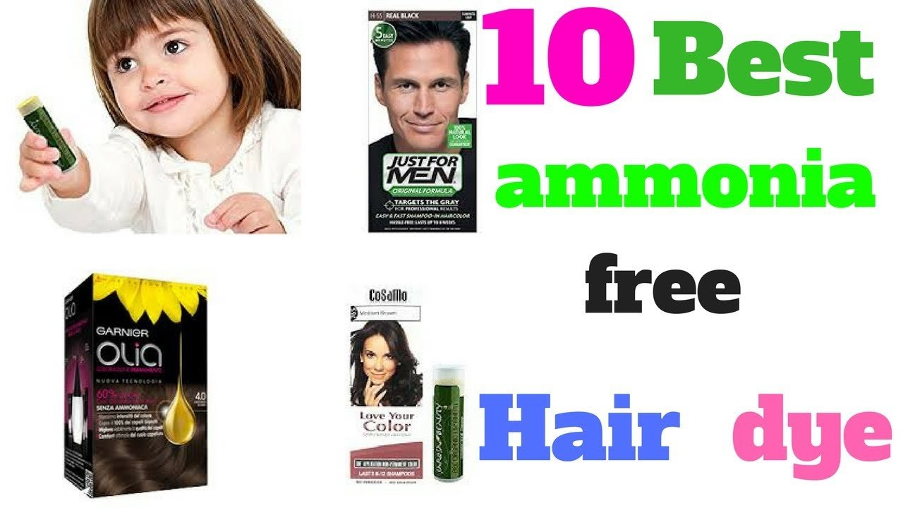 The Best Top 10 Best Ammonia Free Hair Dye Youtube Pictures