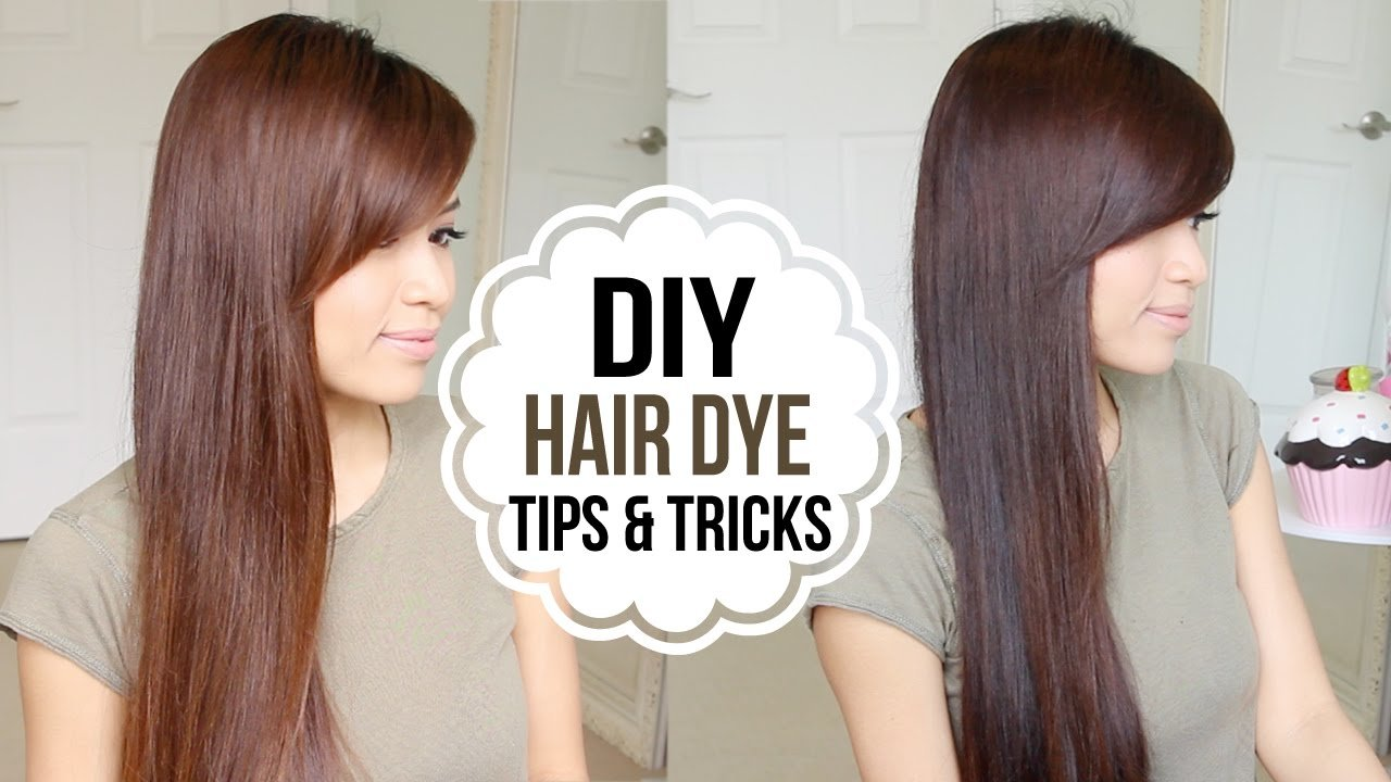 The Best How To Dye Hair At Home Coloring Tips Tricks Youtube Pictures