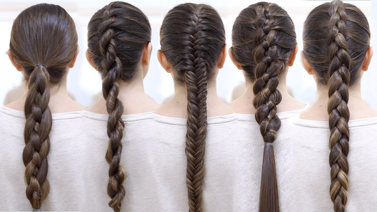 The Best How To Braid Your Hair 6 Cute Braid For Beginners Youtube Pictures