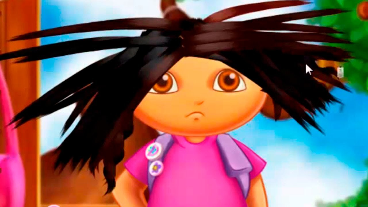 The Best Dora The Explorer Dora S Real Haircut Dora Online Game Pictures
