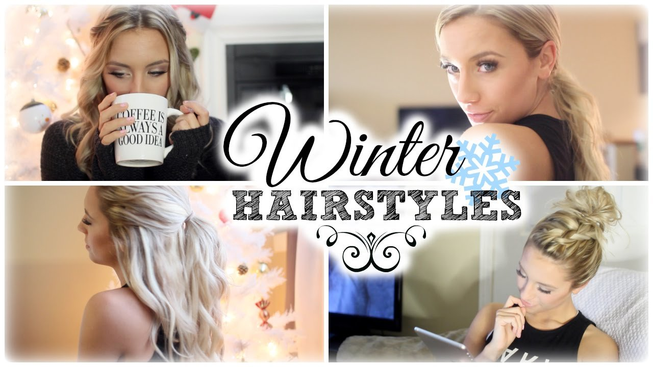 The Best Easy Winter Hairstyles My Go To S Youtube Pictures