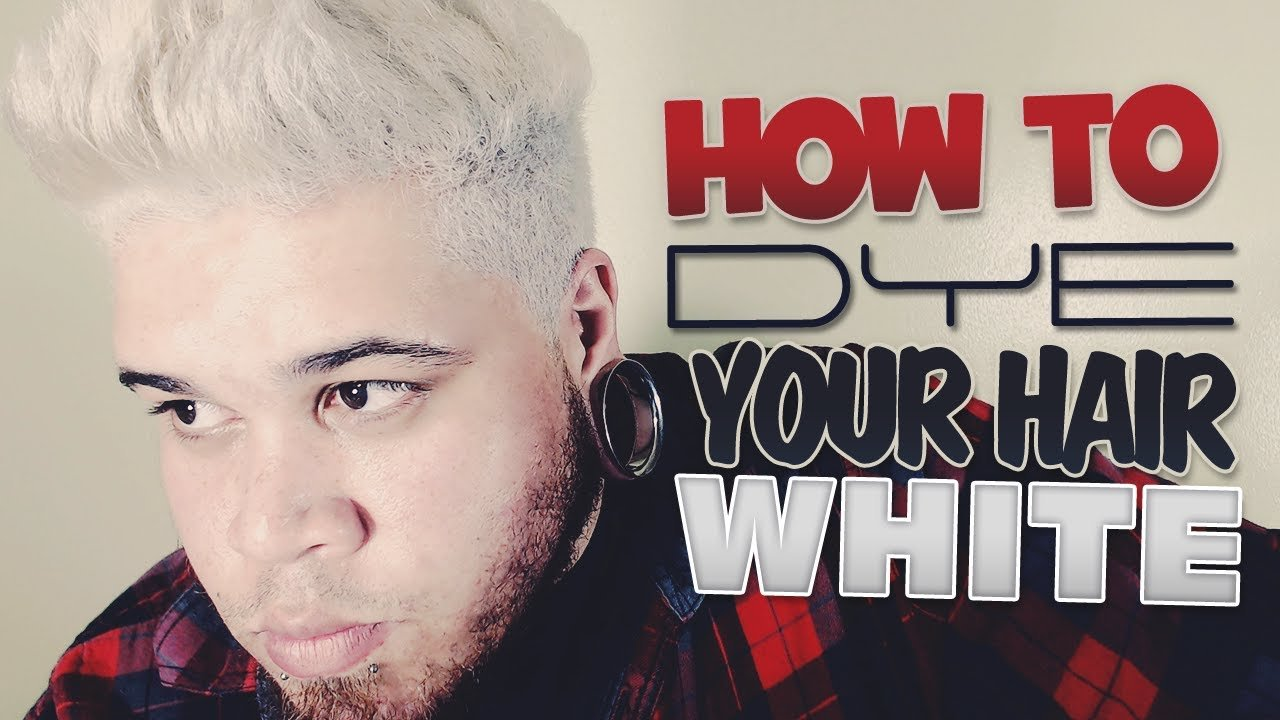 The Best How To Dye Your Hair White Youtube Pictures