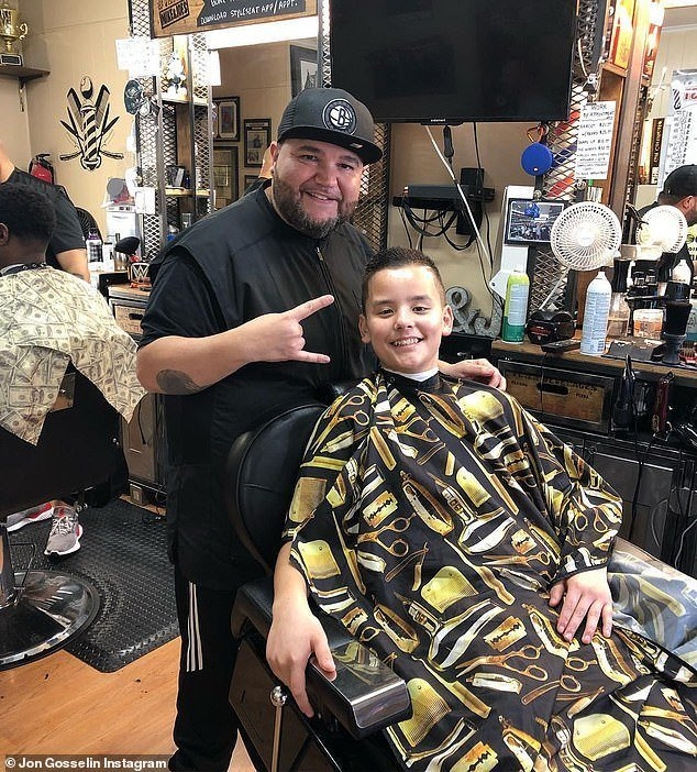 The Best Jon Gosselin Shares Cute Snap Of His Son Collin Getting Pictures