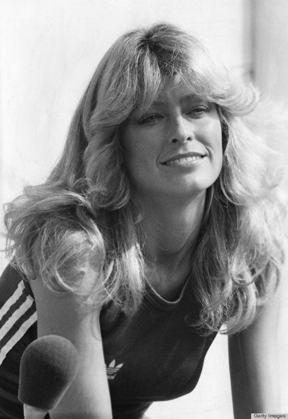 The Best Farrah Fawcett S Famous Flip Hairstyle Over The Years Pictures