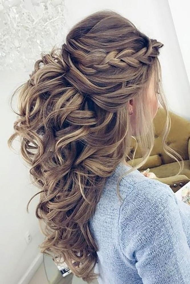 The Best 15 Photo Of Long Hairstyles Wedding Guest Pictures