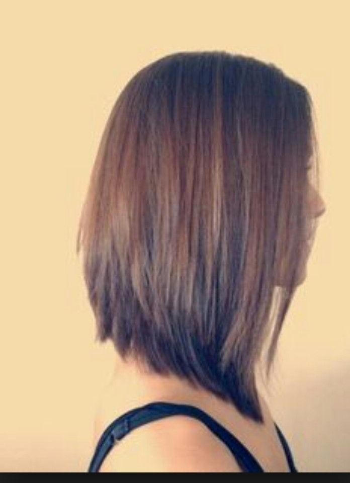 The Best 15 Inspirations Of Short In Back Long In Front Hairstyles Pictures