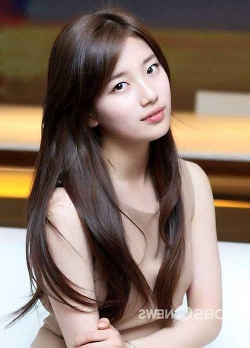 The Best 15 Collection Of Beautiful Hairstyles For Asian Women Pictures