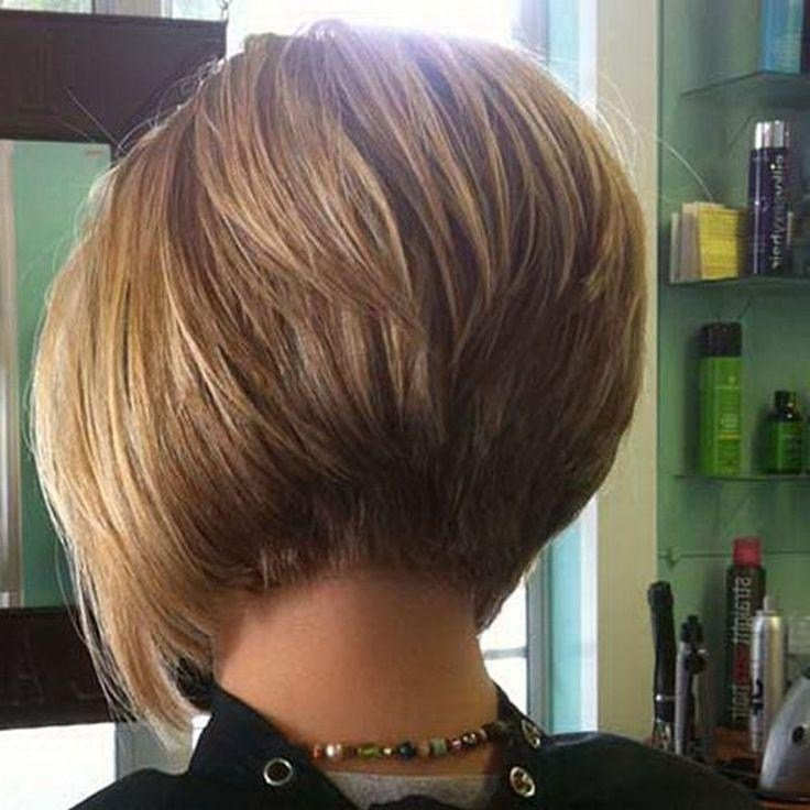 The Best 2019 Popular Short Inverted Bob Haircut Back View Pictures