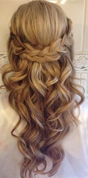 The Best 15 Photo Of Long Hairstyles For Wedding Party Pictures