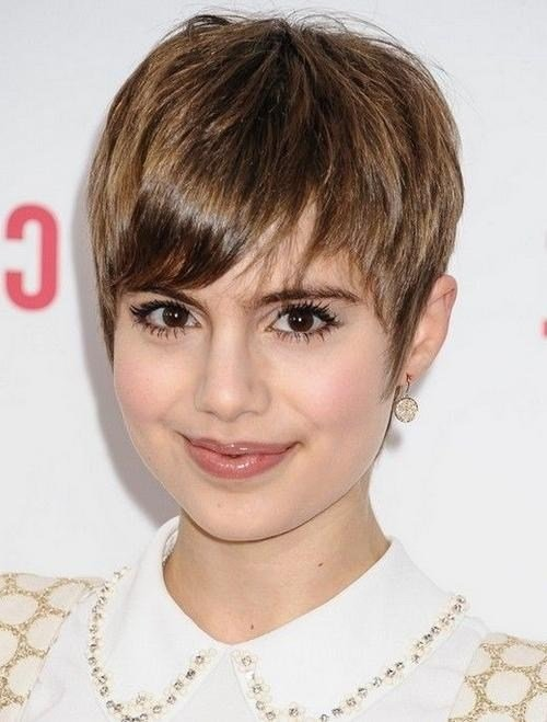 The Best 20 Best Ideas Of Short Haircuts For Big Face Pictures