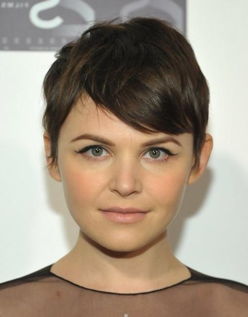 The Best 20 Photo Of Short Hairstyles For Wide Faces Pictures