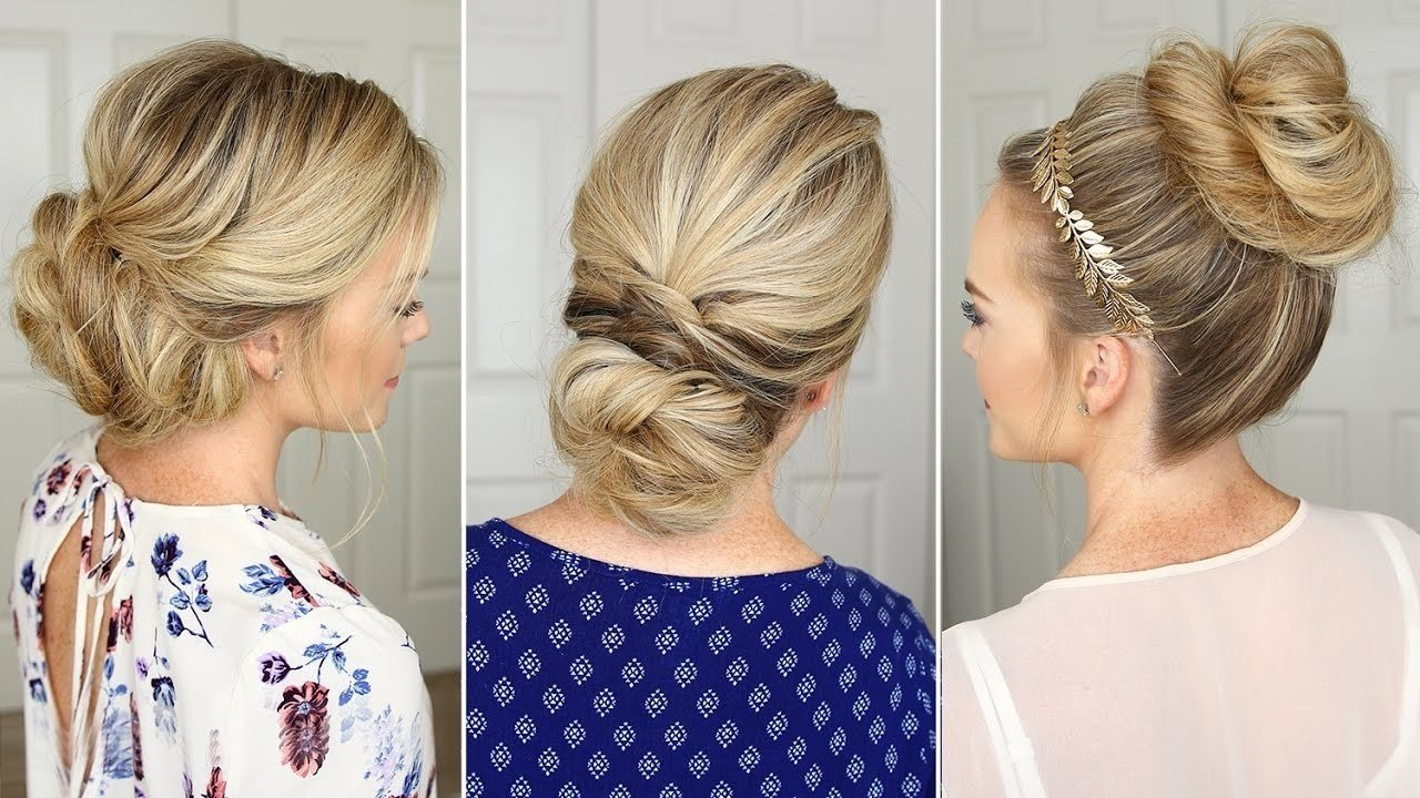 The Best 2019 Popular Easy Do It Yourself Updo Hairstyles For Pictures