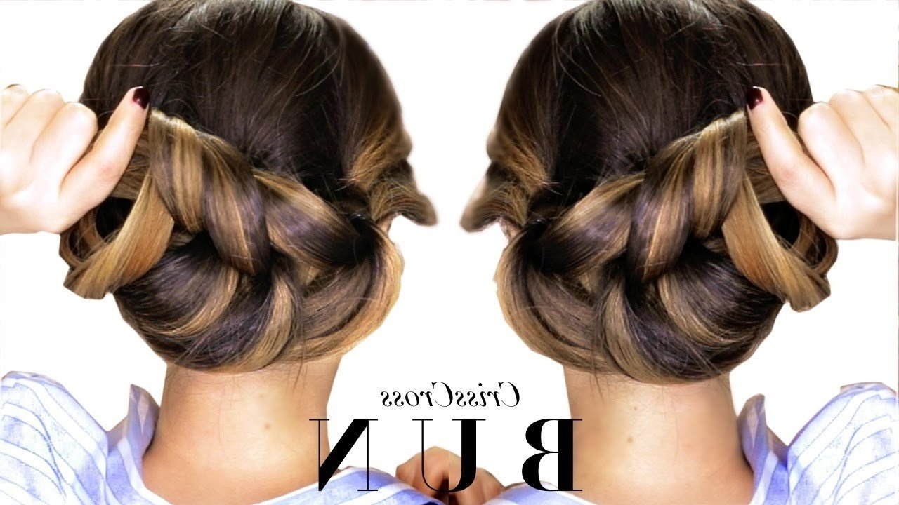 The Best 2019 Popular Quick And Easy Updo Hairstyles For Long Pictures