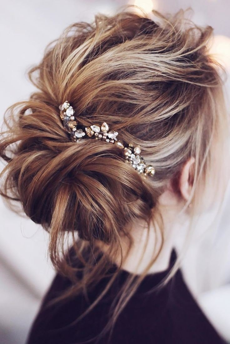 The Best 15 Best Collection Of Wedding Guest Hairstyles For Medium Pictures