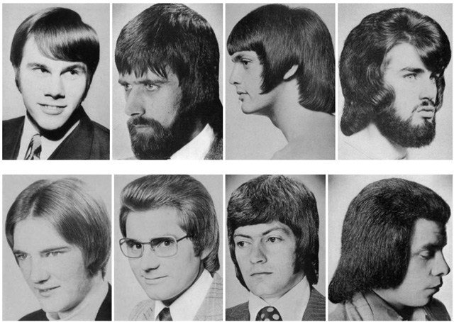 The Best A Hilarious Montage Of Bad Hairstyles For Men From The Pictures