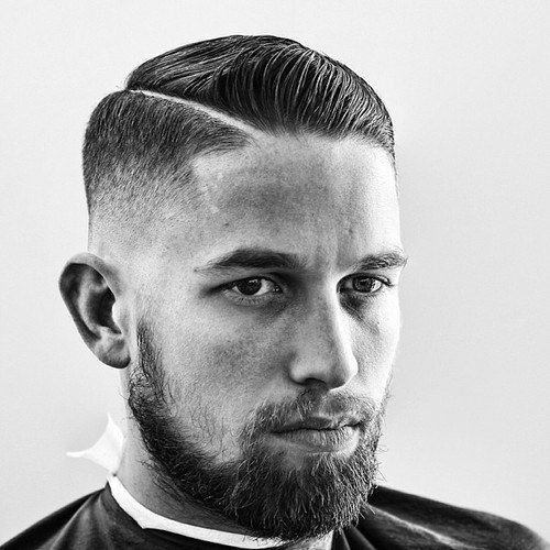 The Best 30 Hard Part Haircut Ideas For The Modern Dapper Man Pictures