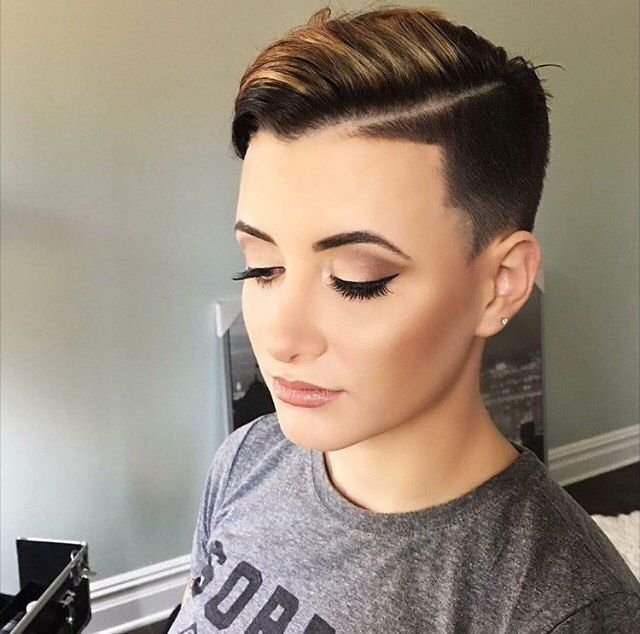 The Best 60 Modern Shaved Hairstyles And Edgy Undercuts For Women Pictures