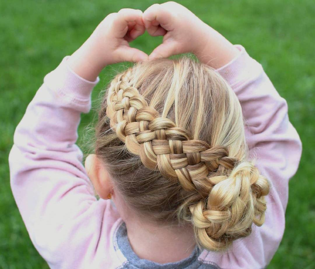 The Best 40 Pretty Fun And Funky Braids Hairstyles For Kids Pictures