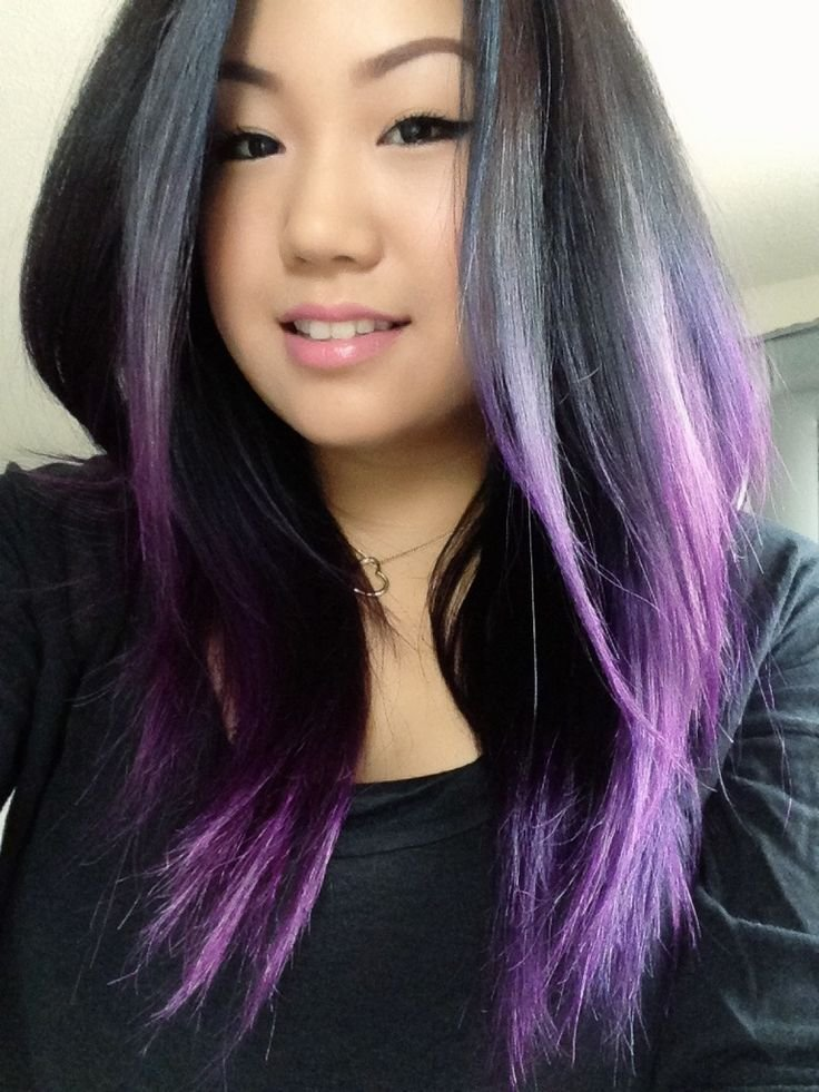 The Best 30 Luxuriously Royal Purple Ombre Hair Color Ideas Pictures