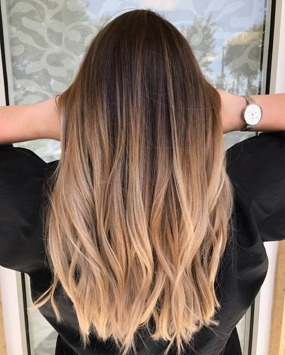 The Best Color Melt Hair 35 Ideas For Seamless Color Melting Looks Pictures