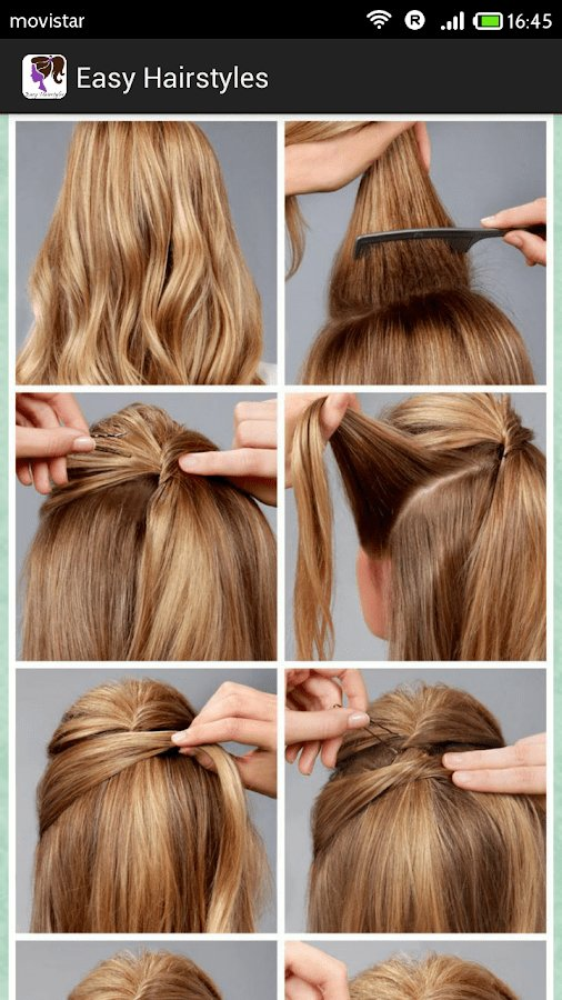 The Best Easy Hairstyles Step By Step Android Apps On Google Play Pictures