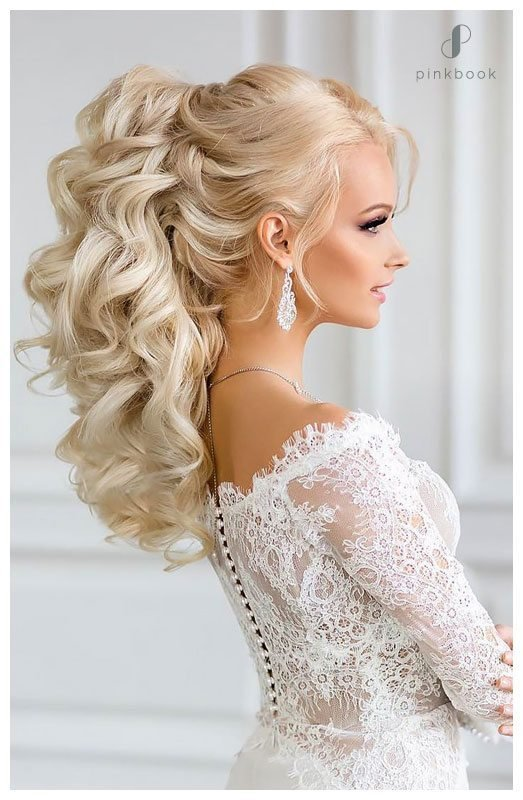 The Best 10 Beautiful Wedding Hairstyles For Long Hair L Pink Book Pictures