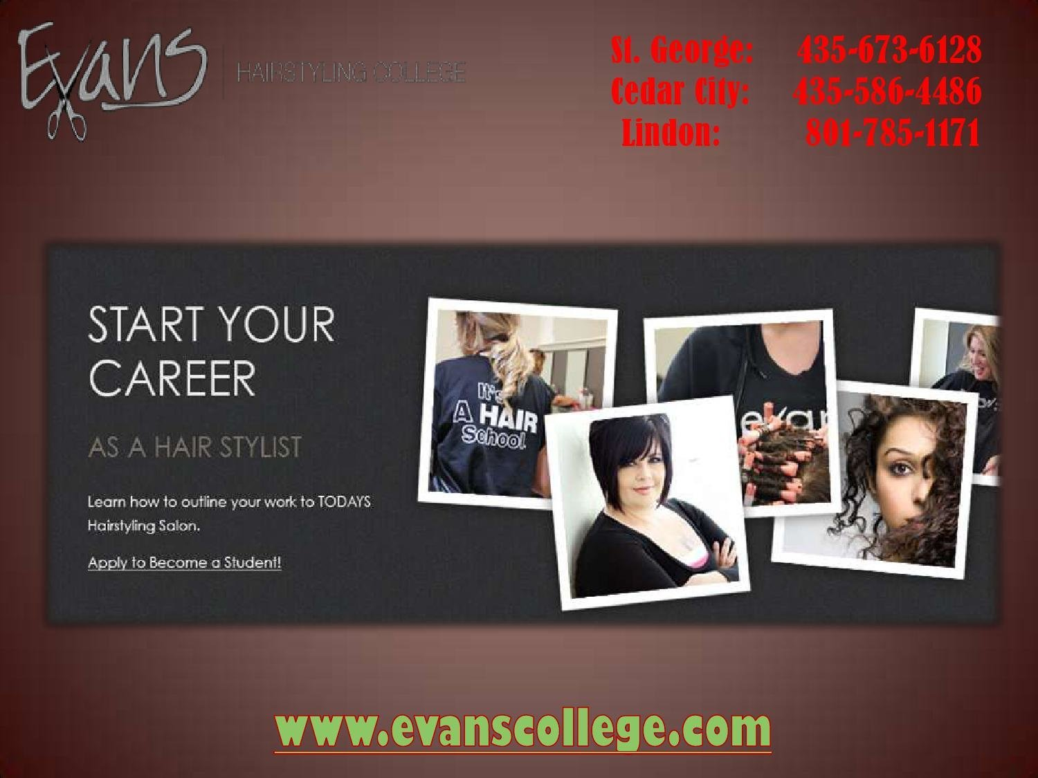 The Best Hairdresser Assistant St George Ut By Evanscollege Issuu Pictures