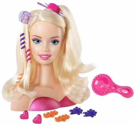 The Best Barbie Blonde Styling Head Small Buy Online In Uae Pictures
