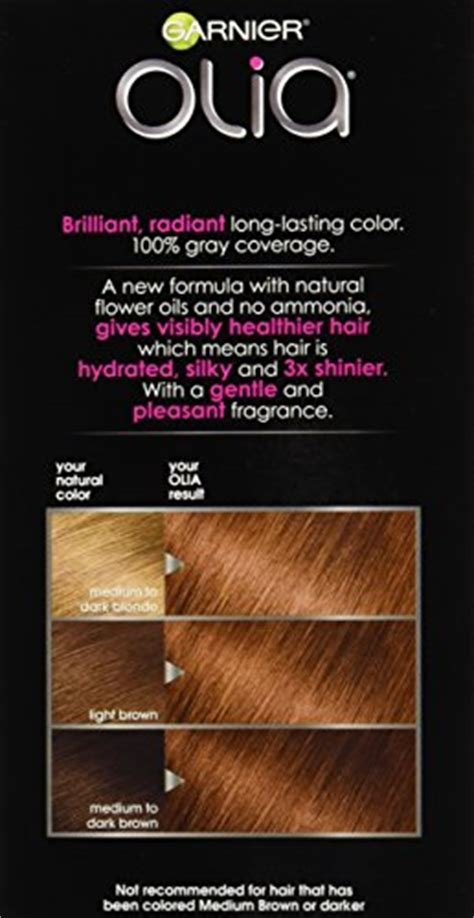 The Best Garnier Olia Oil Powered Permanent Hair Color 6 43 Light Pictures