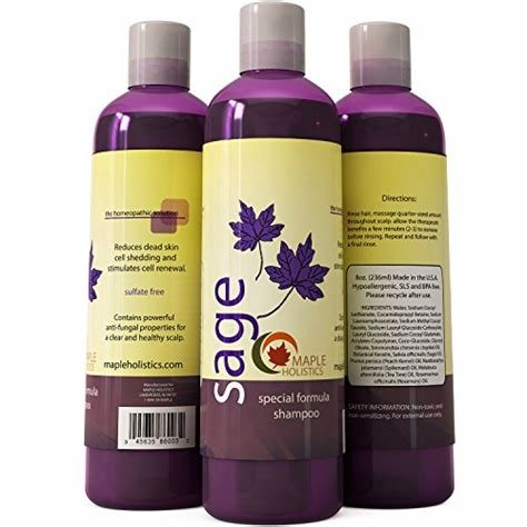 The Best Sage Shampoo For Heavy Dandruff With Jojoba Organic Pictures