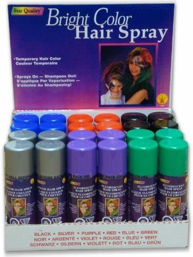 The Best Amazon Com Temporary Hair Color Spray 3 Oz Case 24 Pictures