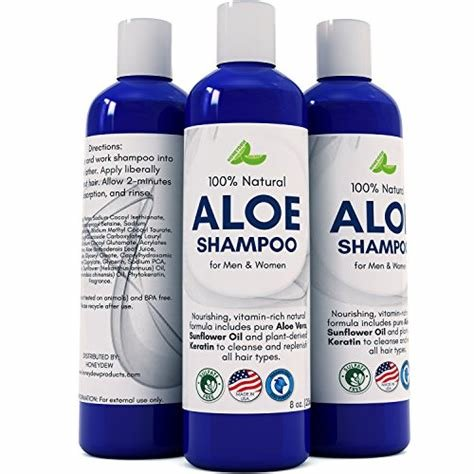 The Best Aloe Vera Shampoo With Sunflower Keratin – Natural Pictures