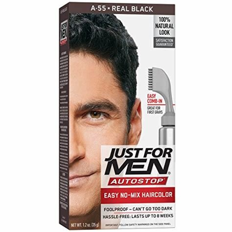 The Best Just For Men Autostop Men S Hair Color Real Black 1 Count Buy Online In Uae Beauty Pictures