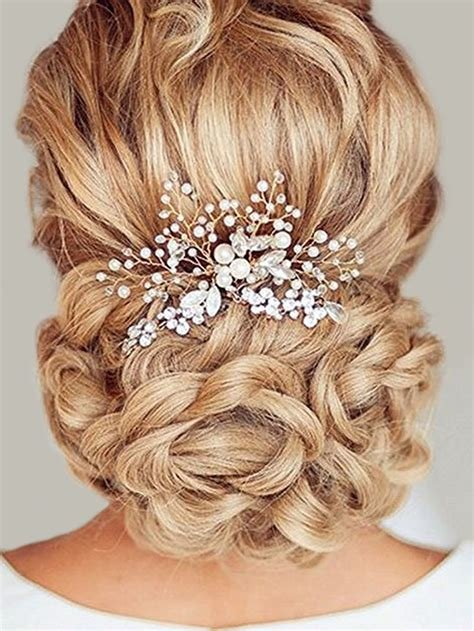 The Best Amazon Com Unicra Wedding Headband Hair Vine And Hair Pictures