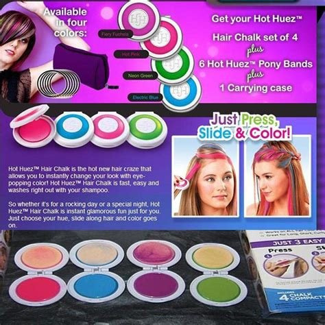 The Best Amazon Com Kokobuy 1Pcs Women Kids Temporary Hair Color Pictures