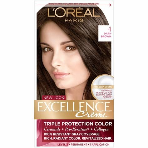The Best L Oreal Paris Excellence Creme Hair Color 4 Dark Brown Pictures
