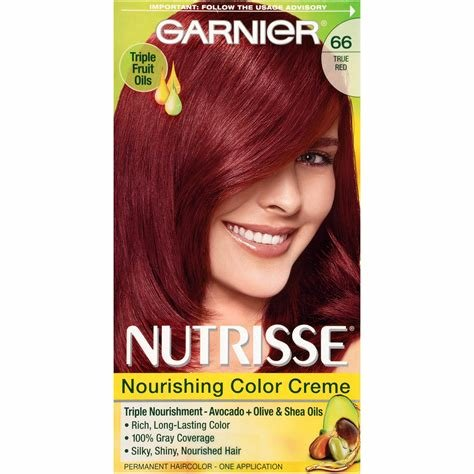 The Best Amazon Com Garnier Nutrisse Ultra Color Nourishing Hair Color Creme R3 Light Intense Auburn Pictures
