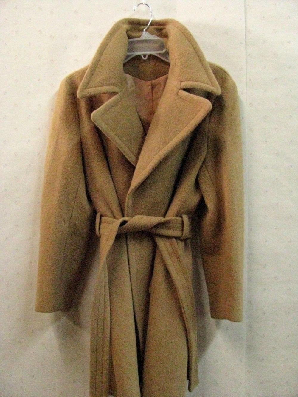 The Best Coat Camel Hair Dress Length Camel Color Womens Vintage By Pictures
