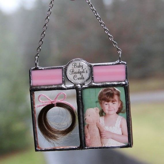 The Best First Haircut Lock Of Hair Baby Hair Photo Keepsake First Pictures
